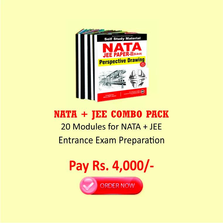 UG23. NATA 2019 / JEE Paper - II (B. Arch) 2019