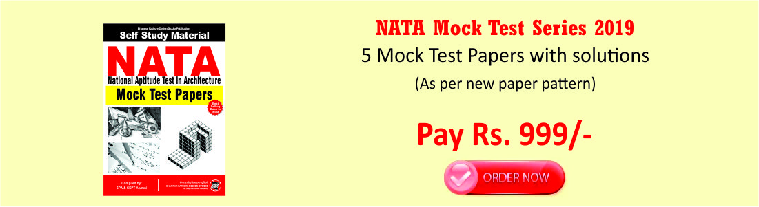 NATA Mock Test Series 2019