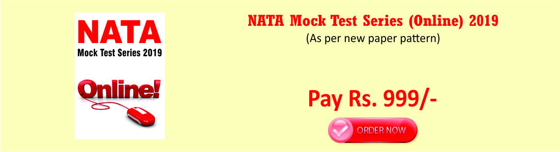 NATA Mock Test Series (Online) 2019