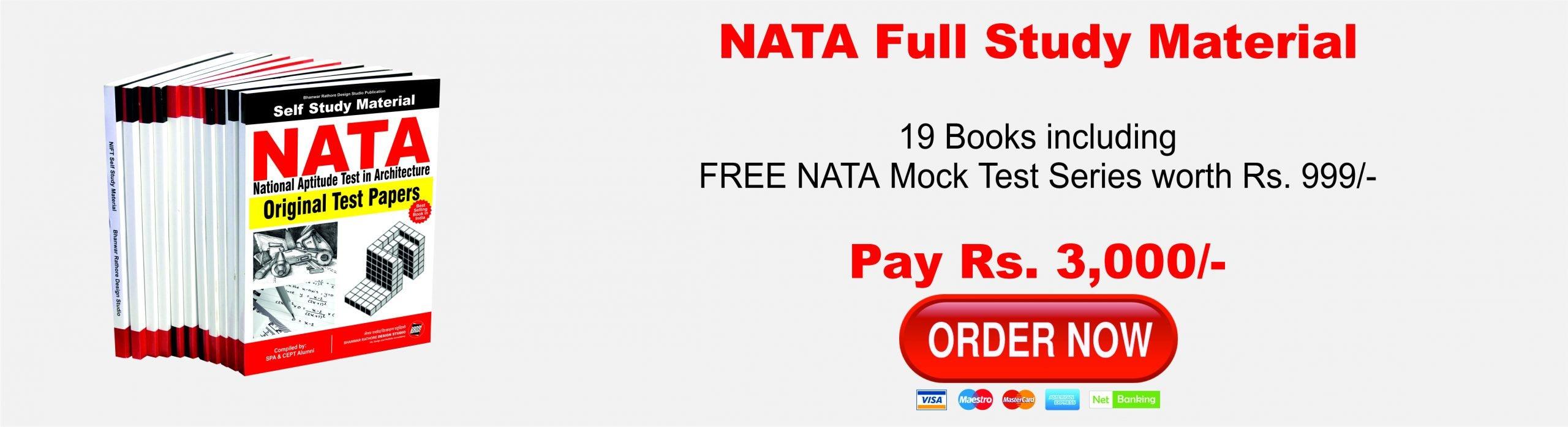 NATA Full Study Material 2019