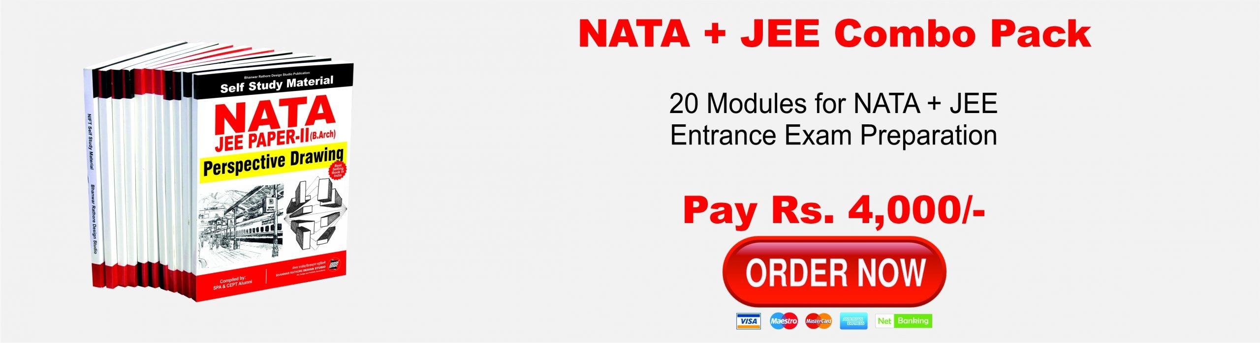 UG23. NATA 2020 / JEE Paper - II (B. Arch) 2020