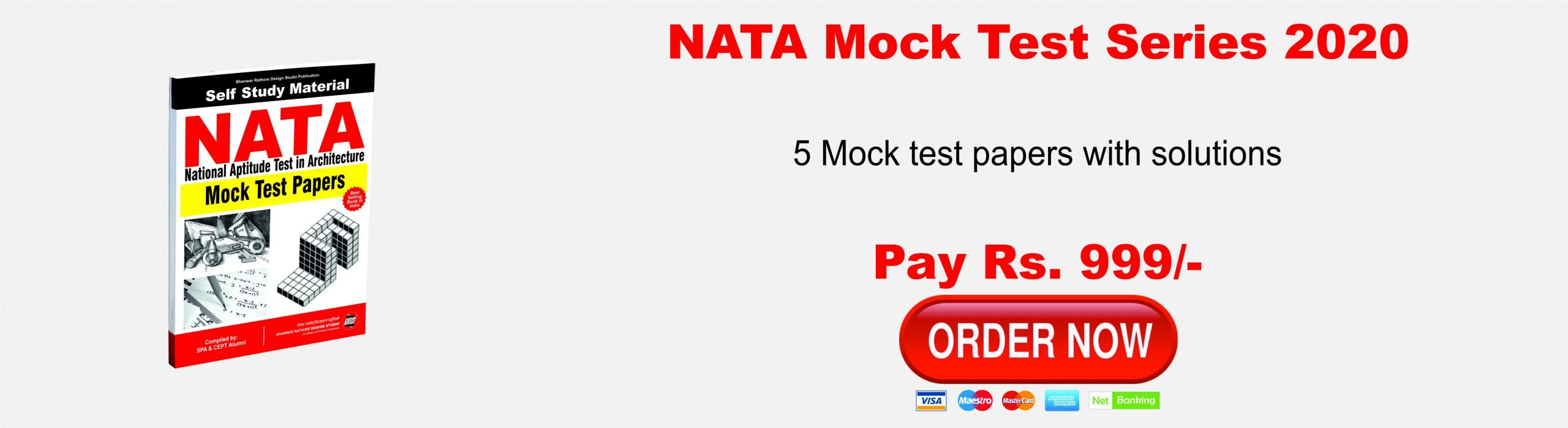 NATA Mock Test Series 2020