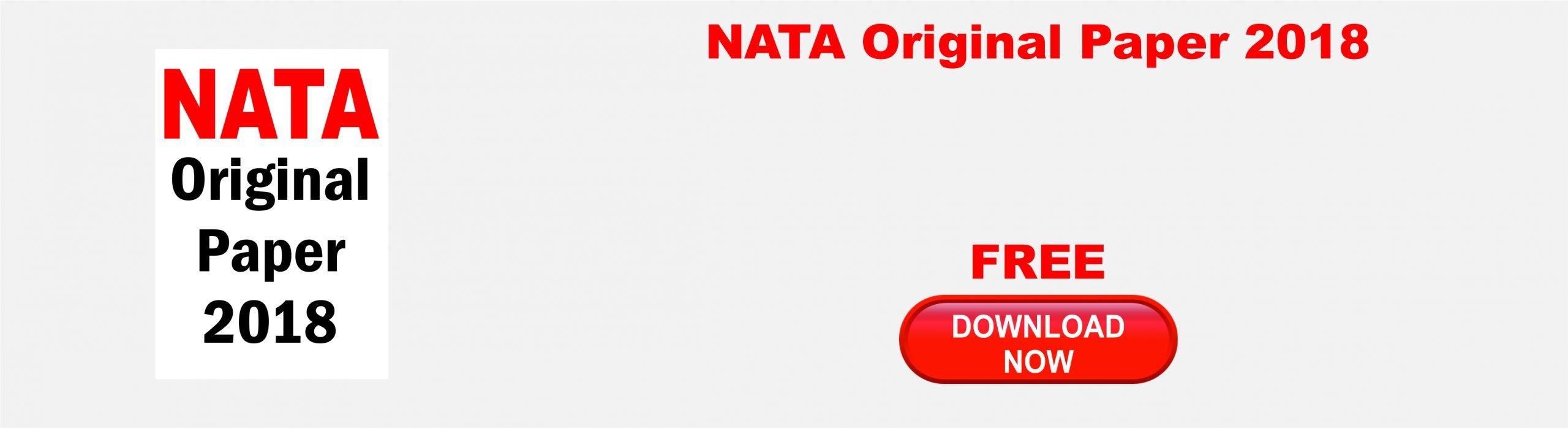 NATA Original Paper 2018